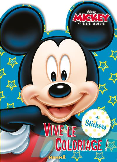 DISNEY MICKEY ET SES AMIS - VIVE LE COLORIAGE (PERSONNAGE MICKEY)