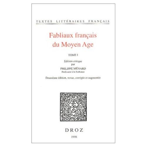 FABLIAUX FRANCAIS DU MOYEN AGE
