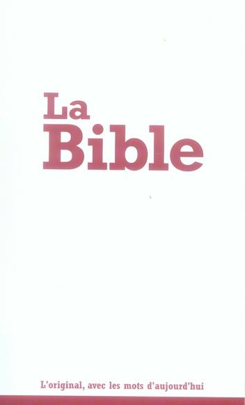 LA BIBLE 1.9 E