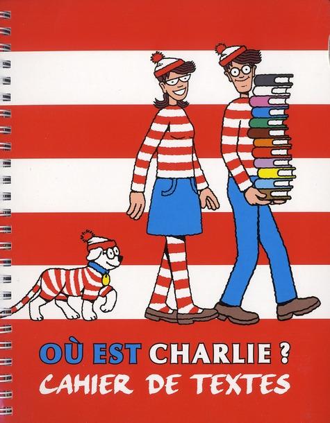 CAHIER DE TEXTES CHARLIE
