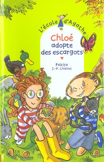 CHLOE ADOPTE DES ESCARGOTS