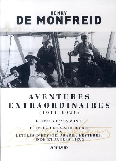 AVENTURES EXTRAORDINAIRES (1911-1921) - LETTRES D'ABYSSINIE LETTRE DE LA MER ROUGE ET LETTRES D'ARAB