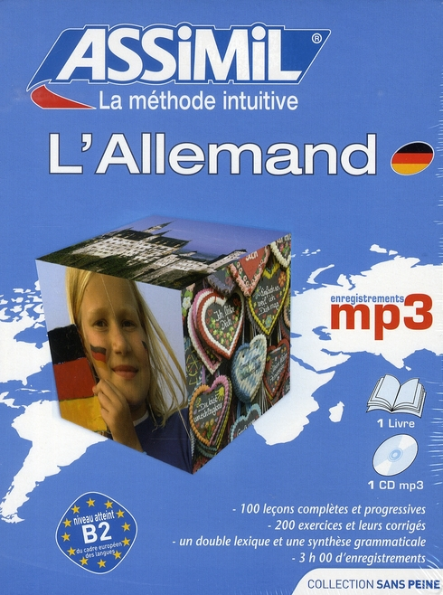 PACK MP3 ALLEMAND