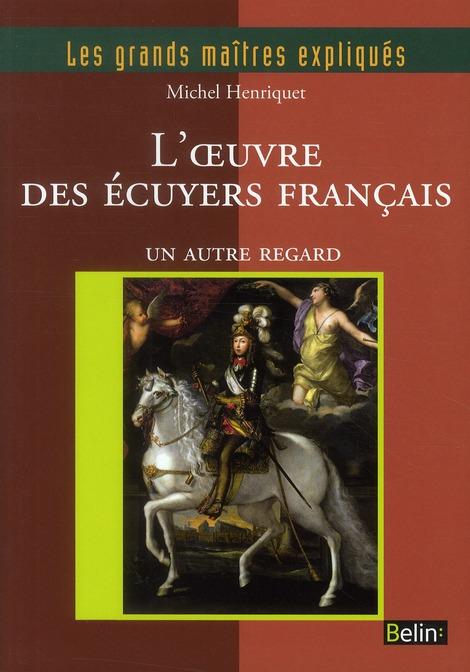 L'OEUVRE DES ECUYERS FRANCAIS