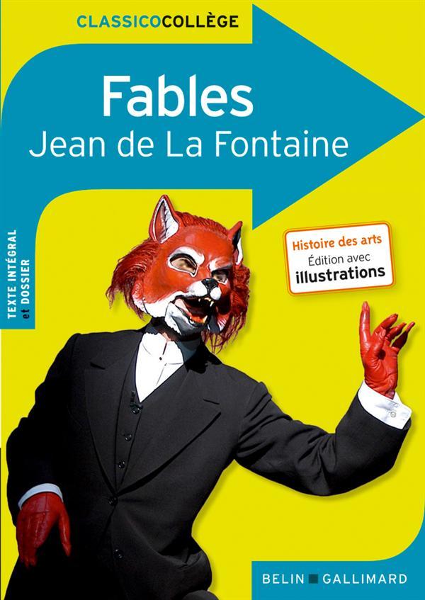 CLASSICO FABLES DE JEAN DE LA FONTAINE