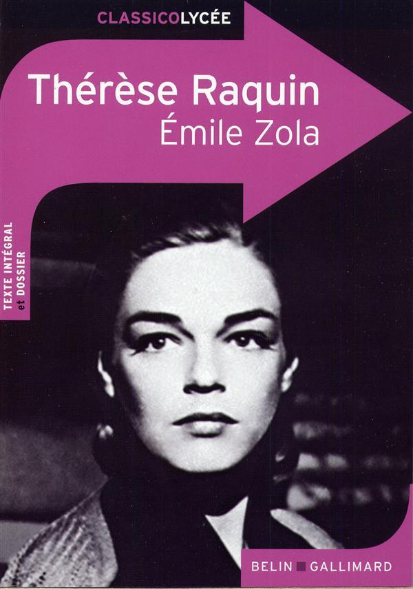 CLASSICO THERESE RAQUIN D'EMILE ZOLA