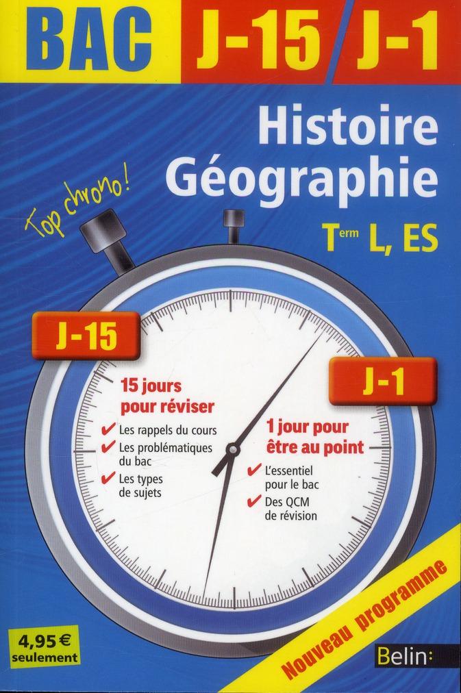 J-15 J-1 HISTOIRE GEO TLE L, ES 2013