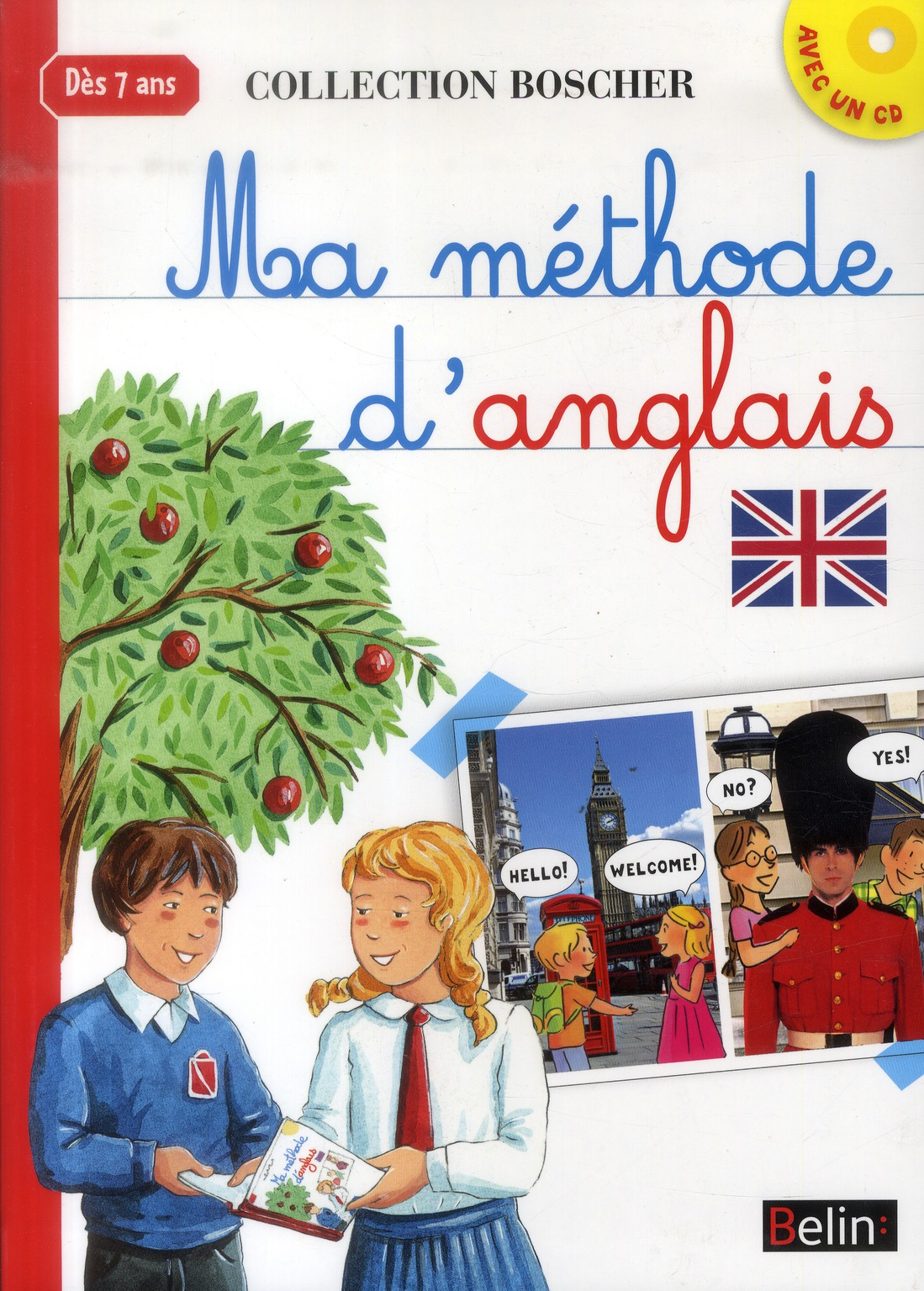 MA METHODE D'ANGLAIS BOSCHER (AVEC CD)