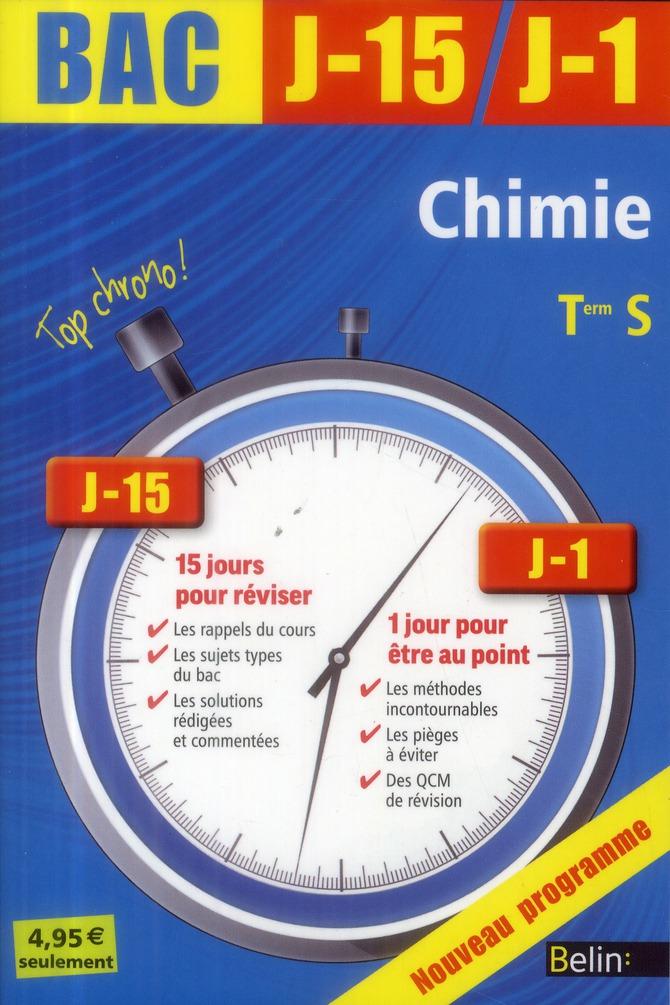 J-15 J-1 CHIMIE TERM S 2013