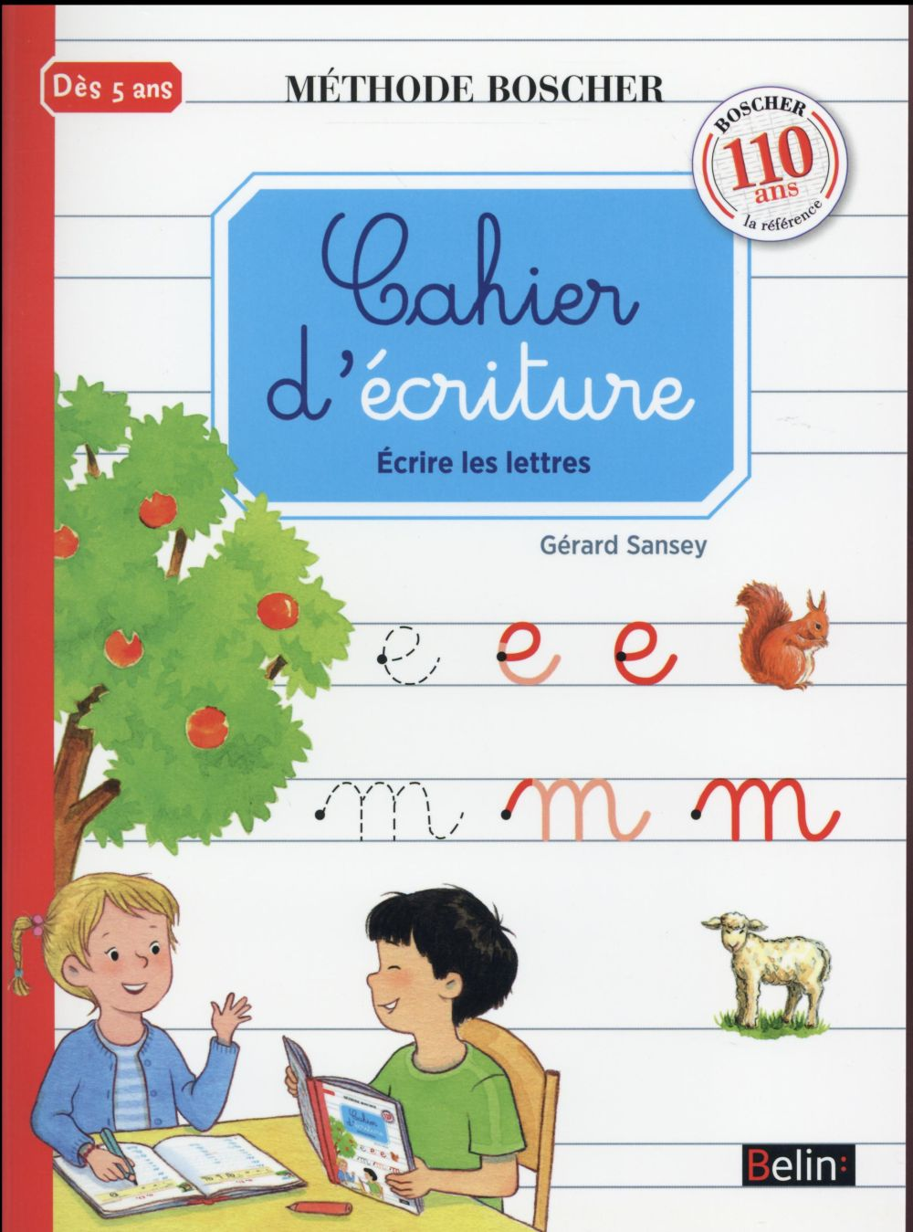 CAHIER D'ECRITURE NED