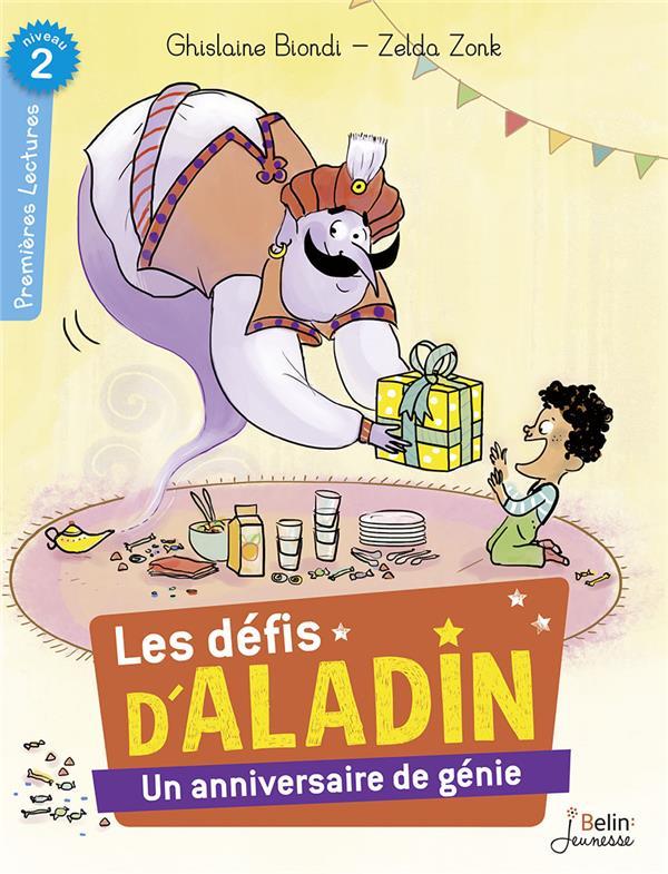 UN ANNIVERSAIRE DE GENIE - LES DEFIS D'ALADIN