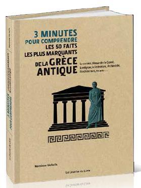 3 MINUTES POUR COMPRENDRE LES 50 FAITS LES PLUS MARQUANTS DE LA GRECE ANTIQUE