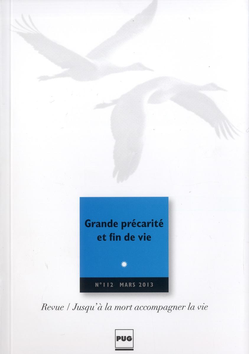 JALMALV - GRANDE PRECARITE SOCIALE ET FIN DE VI - N112