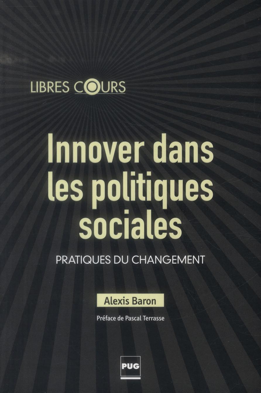INNOVER DANS LES POLITIQUES SOCIALES PRATIQUES DU CHANGEMENT