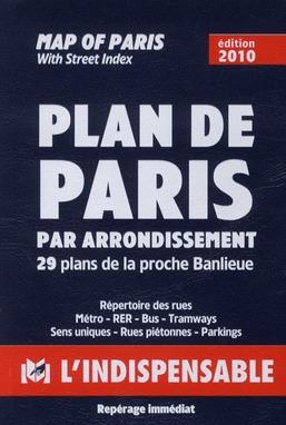 R14 PLAN DE PARIS PAR ARRONDISSEMENTS (BLEU)