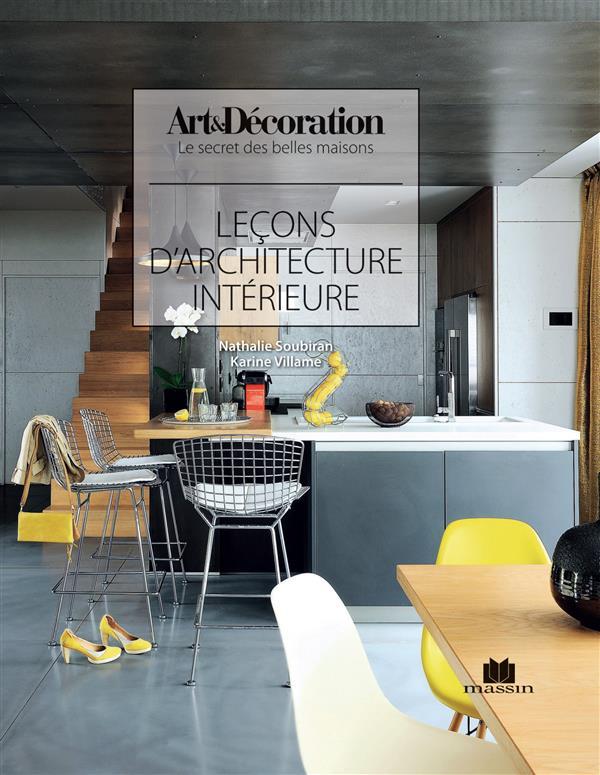 LECONS D'ARCHITECTURE D'INTERIEUR