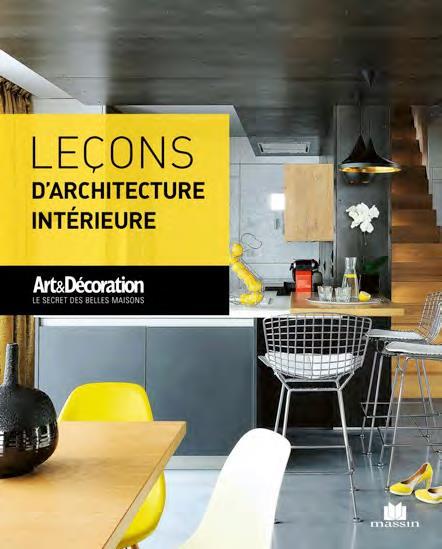 LECONS D'ARCHITECTURE INTERIEURE