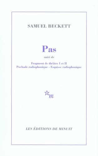 PAS - (SUIVI DE) QUATRE ESQUISSES