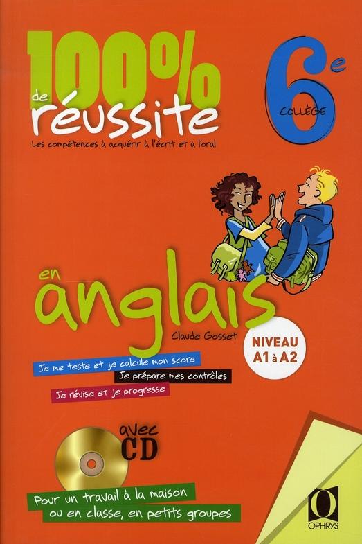 100 % DE REUSSITE EN ANGLAIS - CLASSE DE 6E
