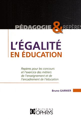 EGALITE EN EDUCATION