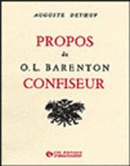 PROPOS DE O.L. BARENTON CONFISEUR, ...