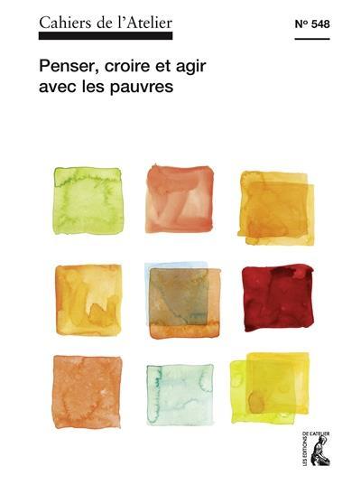 CAHIERS DE L'ATELIER N548