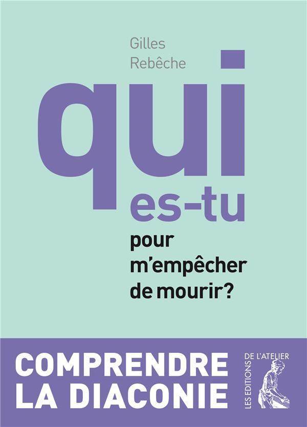 QUI ES-TU POUR M'EMPECHER DE MOURIR ? - NED