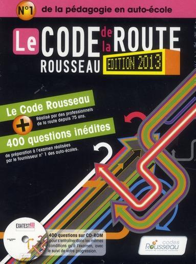 CODE ROUSSEAU DE LA ROUTE B 2013