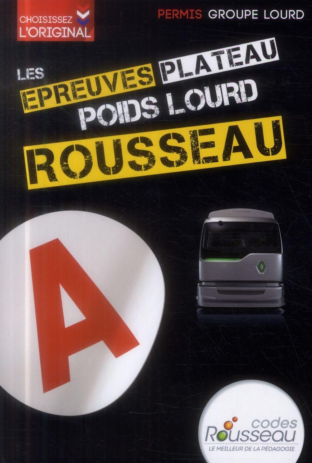 CODE ROUSSEAU ORAL POIDS LOURD 2014