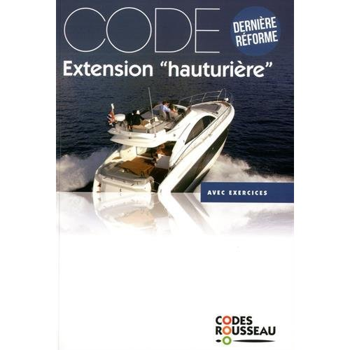 CODE ROUSSEAU CODE EXTENSION HAUTURIERE 2018