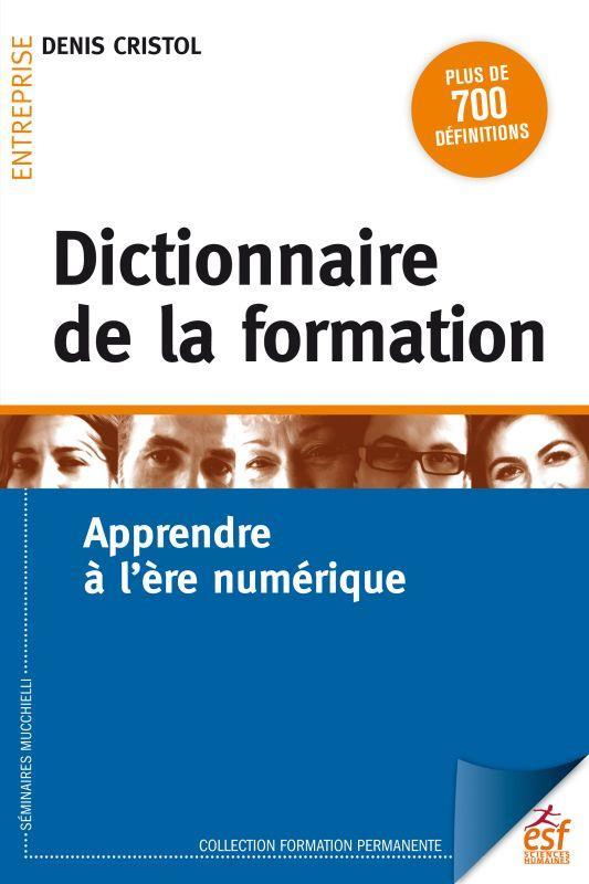 DICTIONNAIRE DE LA FORMATION