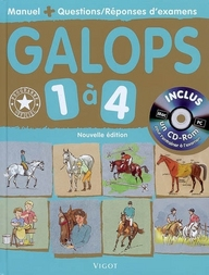 GALOPS 1 A 4 AVEC CD ROM