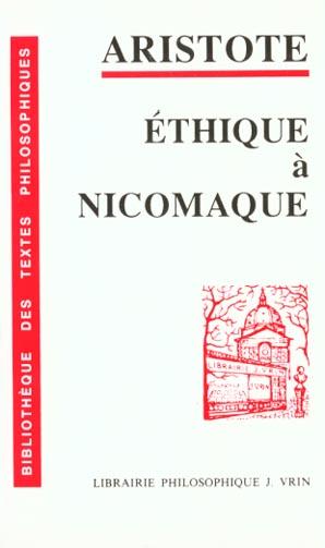 ETHIQUE A NICOMAQUE