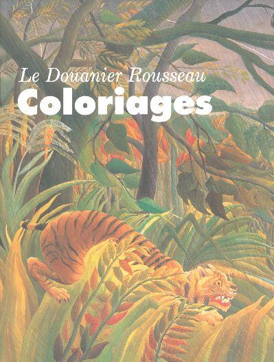 LE  DOUANIER ROUSSEAU COLORIAGES