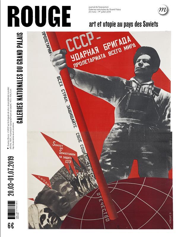 ROUGE - ART ET UTOPIES AU PAYS DES SOVIETS - JOURNAL