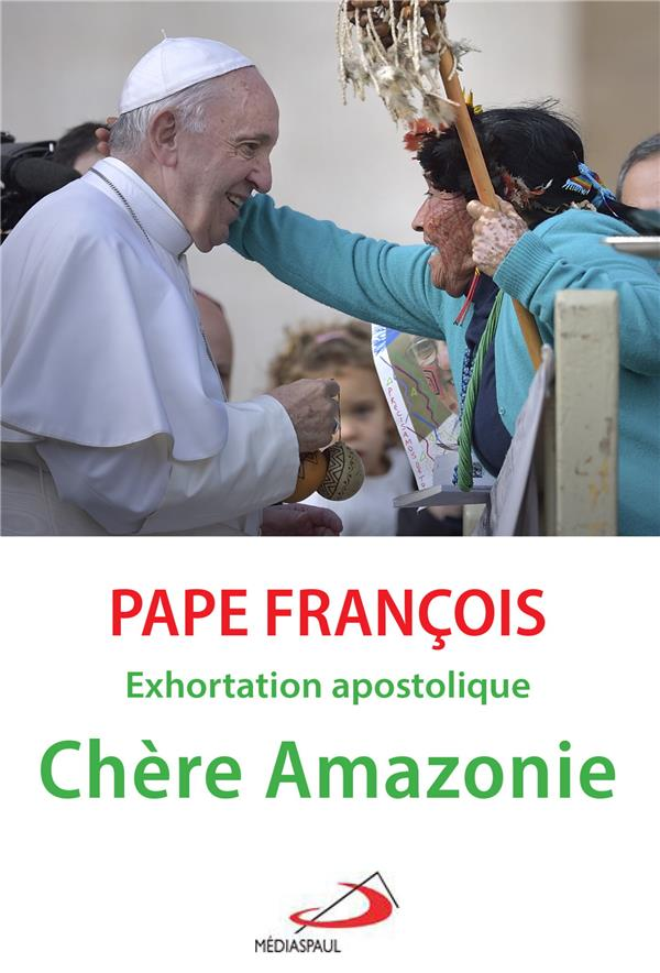 CHERE AMAZONIE - EXHORTATION APOSTOLIQUE POST-SYNODALE QUERIDA AMAZONIA