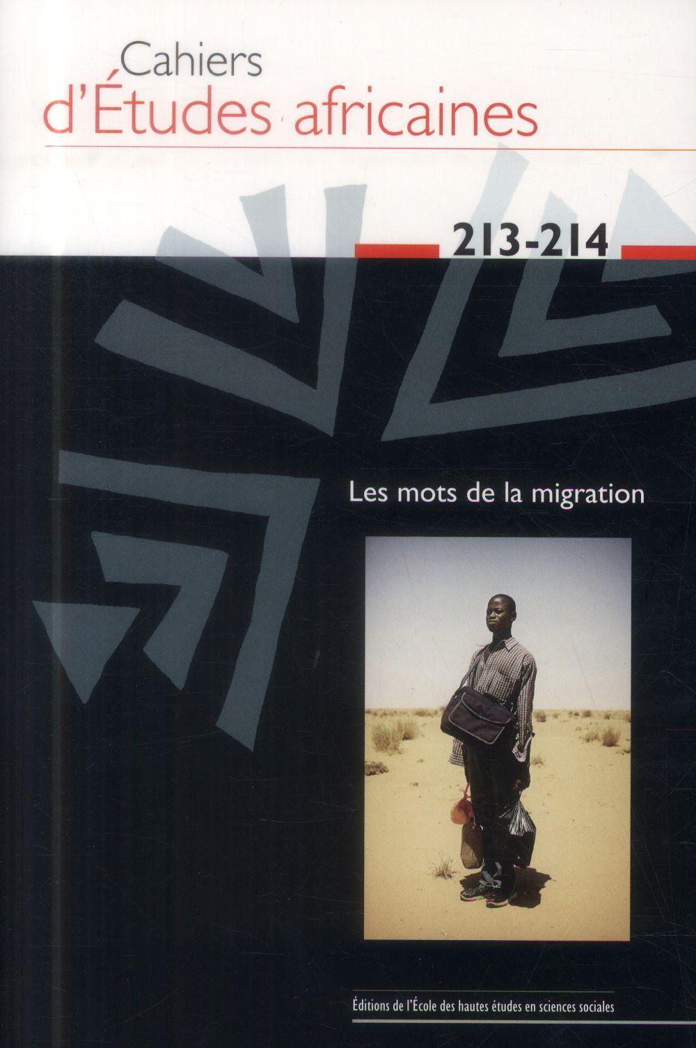CAHIERS D ETUDES AFRICAINES 213 214