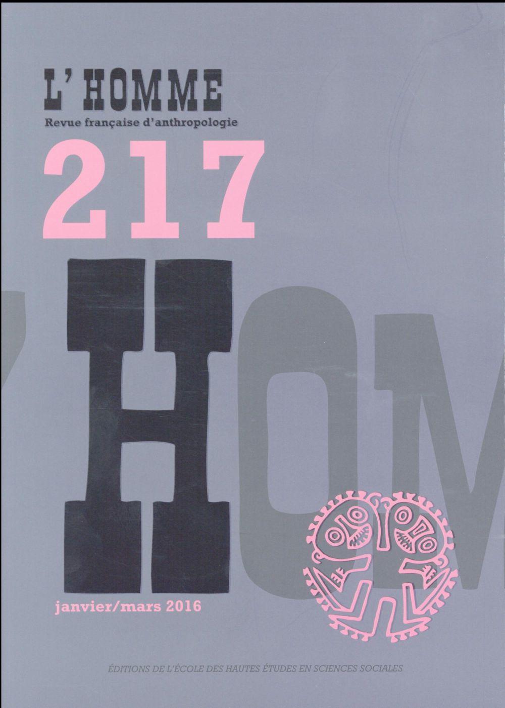 L'HOMME 217 - VARIA