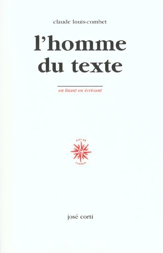 L HOMME DU TEXTE