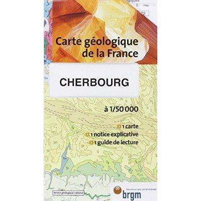 CHERBOURG CARTE GEOLOGIQUE 1/50 000