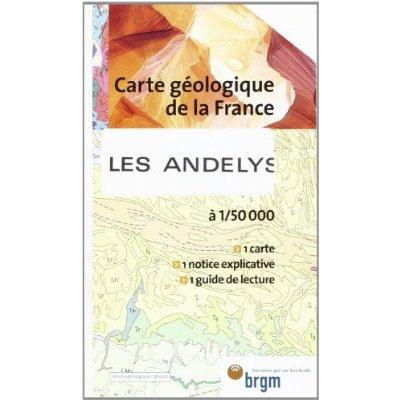 LES ANDELYS GEOLOGIQUE 1/50 000