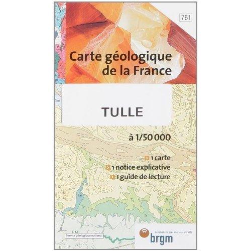 TULLE CARTE GEOLOGIQUE 1/50 000