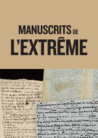 MANUSCRITS DE L'EXTREME