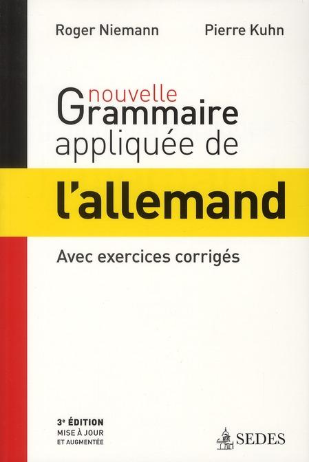 NOUVELLE GRAMMAIRE APPLIQUEE DE L'ALLEMAND
