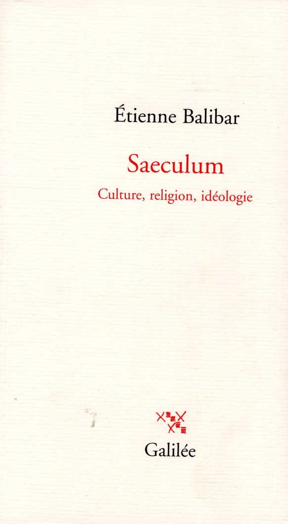 SAECULUM CULTURE, RELIGION, IDEOLOGIE