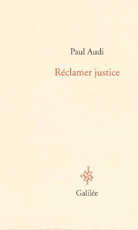 RECLAMER JUSTICE