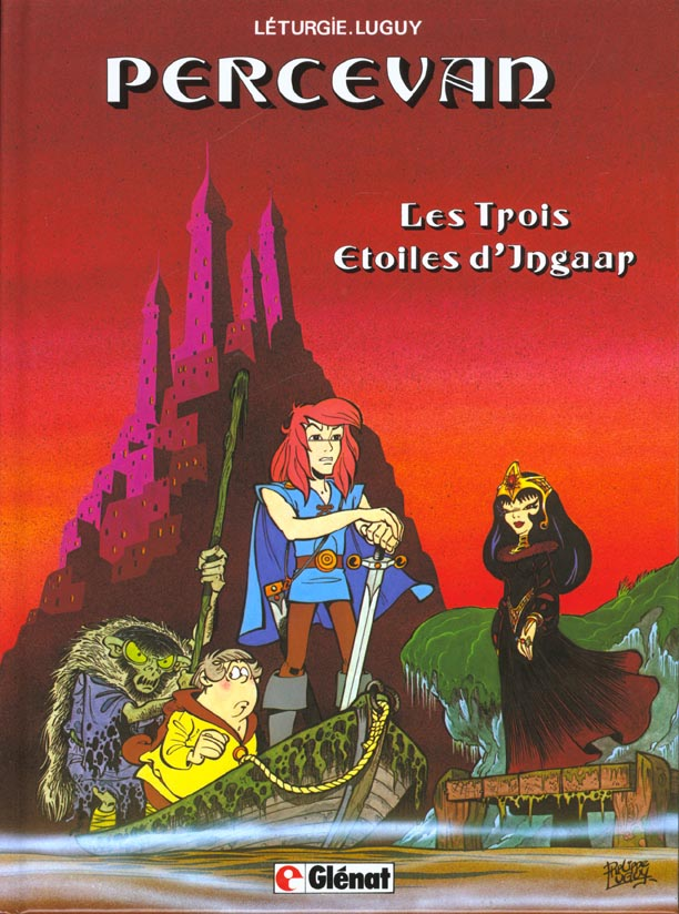 PERCEVAN - TOME 01 - LES TROIS ETOILES D'INGAAR