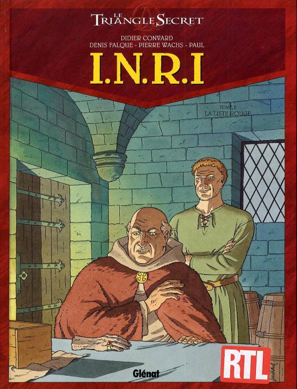 I.N.R.I - TOME 02 - LA LISTE ROUGE