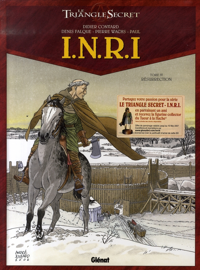I.N.R.I - TOME 04 - RESURRECTION