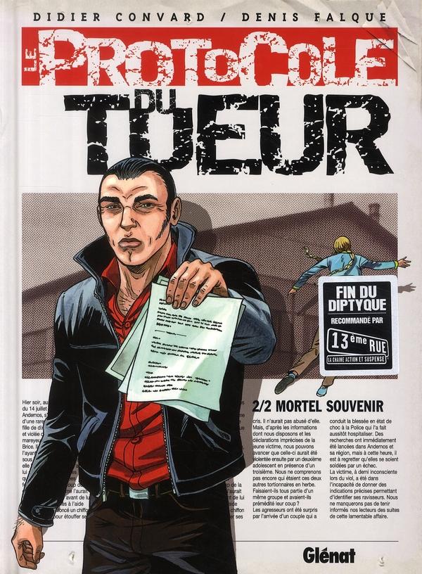 LE PROTOCOLE DU TUEUR - TOME 02 - MORTEL SOUVENIR